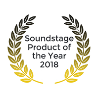 Soundstage Product of the year 2018 logo